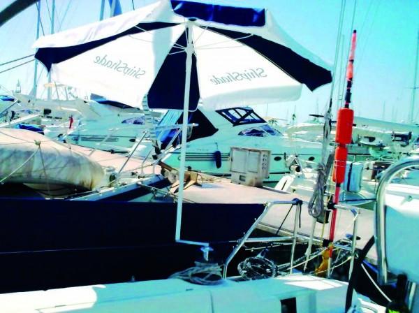 ShipShade Sonnenschirm für Winsch