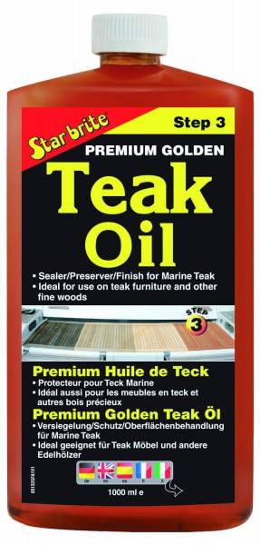 Star Brite Premium Golden Teak Oil
