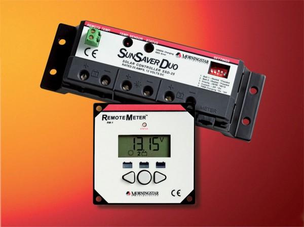 Solara Laderegler LCD