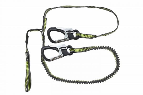 Spinlock 2 Clip Performance - Sicherheitsleine mit Schlaufe ,elastisch