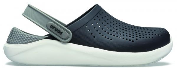 Crocs Lite Ride Clog, Herren, schwarz /grau