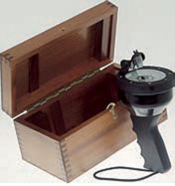 Holzkiste für Handpeilkompass