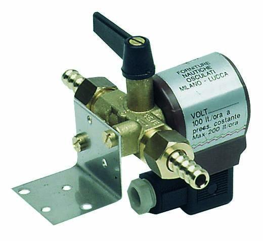 Magnetventil mit 8/10 mm Anschluss