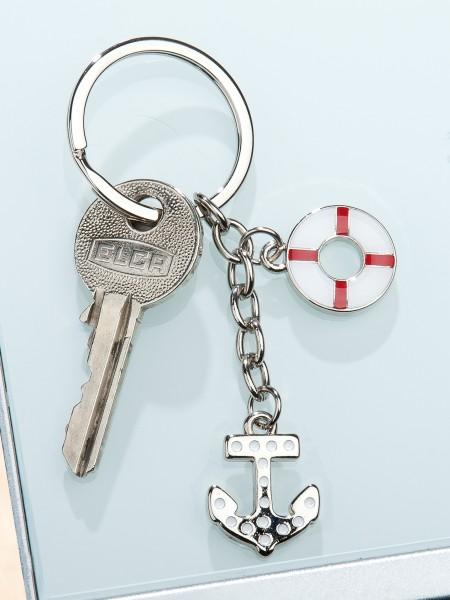 Schlüsselanhänger Anker/Rettungsring