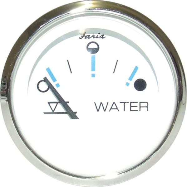 Faria Tankanzeige WATER