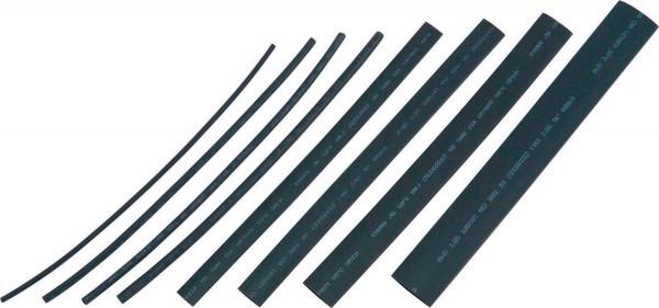Schrumpfschlauchset, 26 tlg., schwarz