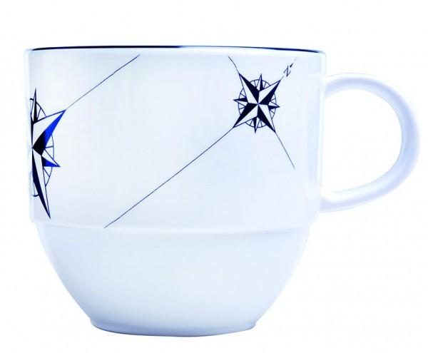 Northwind Kaffeetasse mit Untertasse